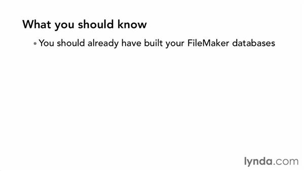 What you should know: Up and Running with FileMaker Go