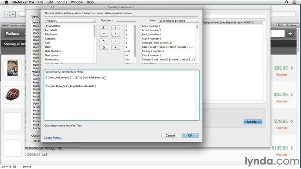 Scripting interactions with other iOS apps: Up and Running with FileMaker Go