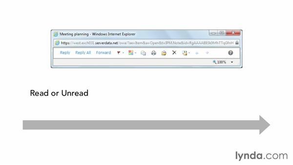 Understanding tags: Outlook Web App (OWA) 2010 Essential Training