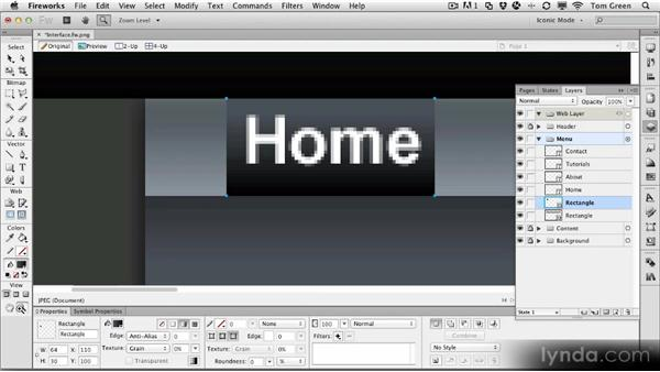 Creating an alternate interface for the FWUser site: Part two: Fireworks CS6 Workshop