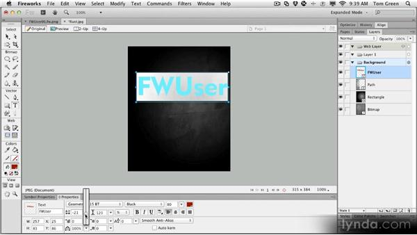 Project: Creating neon text: Fireworks CS6 Workshop