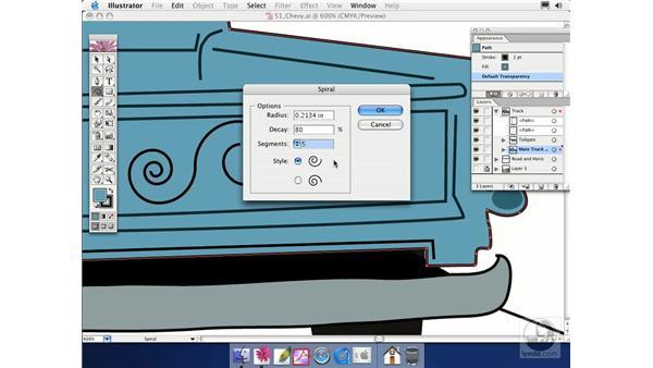 spiral: Illustrator CS Essential Training