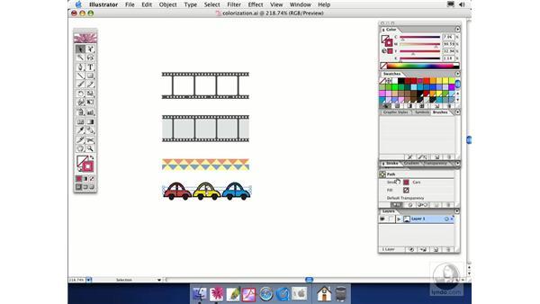 colorization: Illustrator CS Essential Training