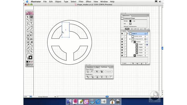 shape modes: Illustrator CS Essential Training