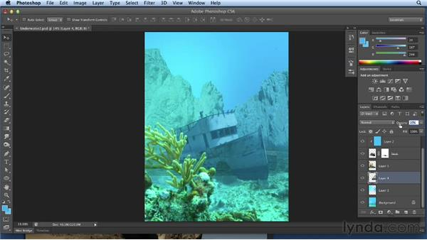 Creating the background and the surface: Bert Monroy: Dreamscapes Volume 3