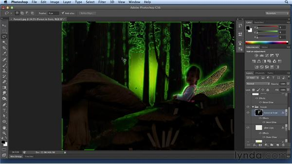Adding glow to the forest: Bert Monroy: Dreamscapes Volume 3
