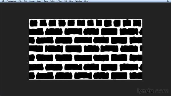 Creating a brick wall: Bert Monroy: Dreamscapes Volume 3