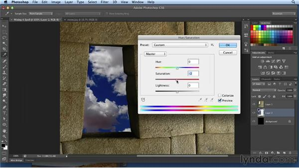 Compositing the background: Bert Monroy: Dreamscapes Volume 3