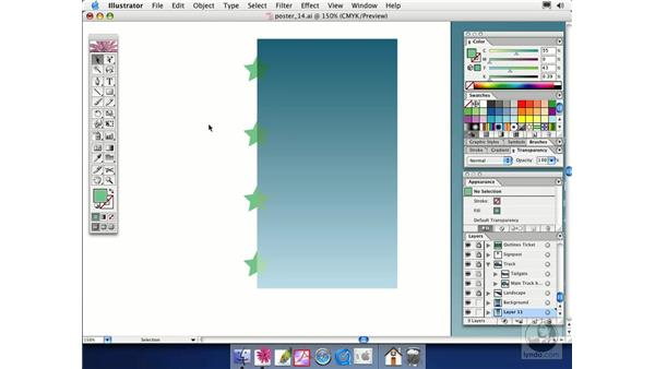 blending modes: Illustrator CS Essential Training