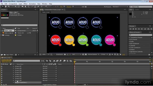 Converting imported vector graphics from Illustrator to shape layers: After Effects CS6 New Features Overview
