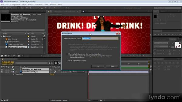 Bending 2D layers: After Effects CS6 New Features Overview