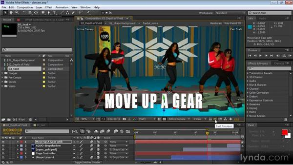 Using Fast Previews: After Effects CS6 New Features Overview