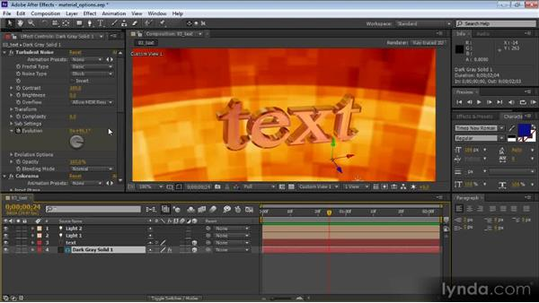 Environment layers: After Effects CS6 New Features Overview