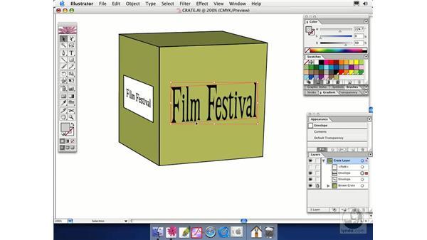 object distortion: Illustrator CS Essential Training