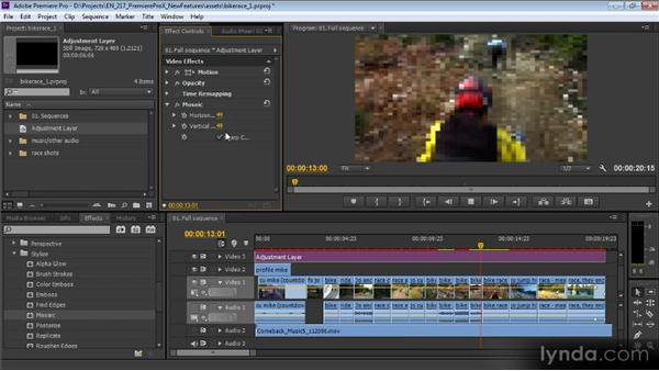 Overview: Premiere Pro CS6 New Features Overview