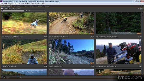 Changes to the Project and Media Browser panels: Premiere Pro CS6 New Features Overview