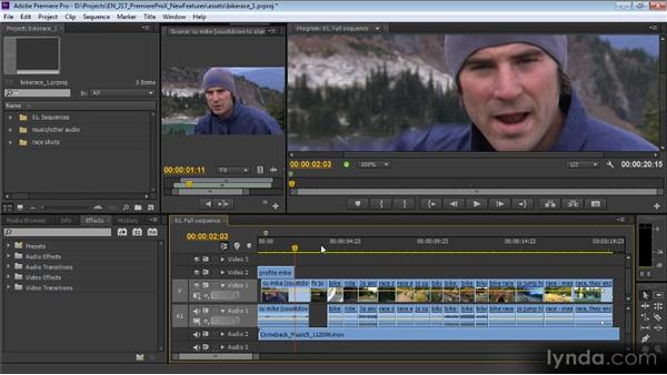 Keyboard shortcut changes: Premiere Pro CS6 New Features Overview