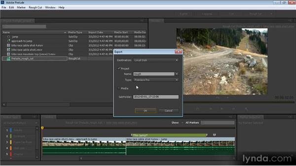 Improved markers and importing from Prelude: Premiere Pro CS6 New Features Overview