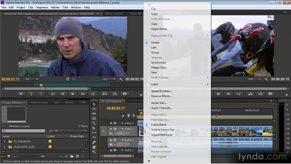 Miscellaneous new and removed features: Premiere Pro CS6 New Features Overview