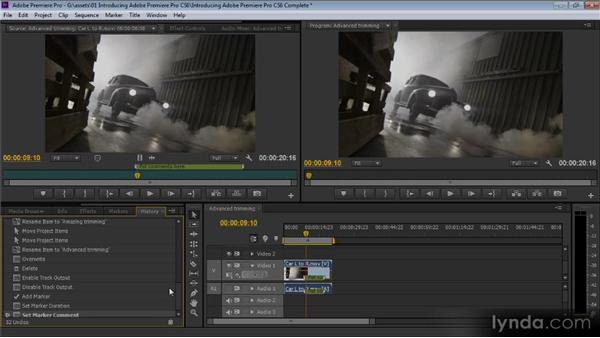A look at the interface: Up and Running with Premiere Pro CS6