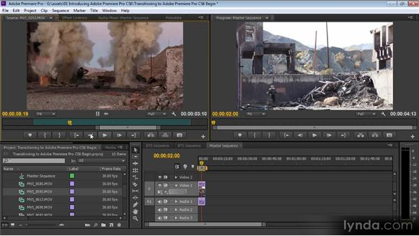 Transitioning to Premiere Pro CS6: Up and Running with Premiere Pro CS6