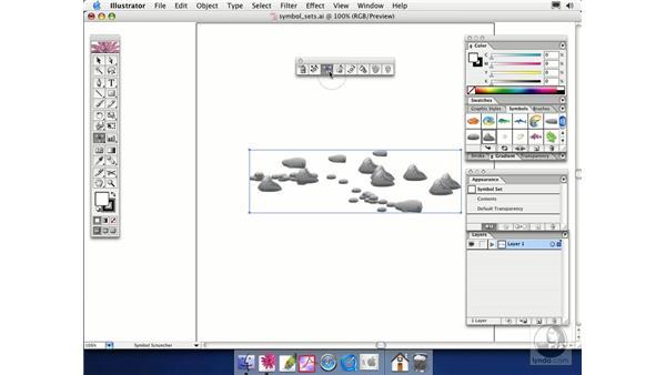 symbol sets: Illustrator CS Essential Training