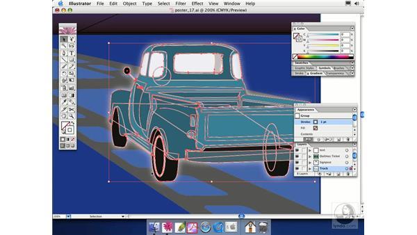 enhancing objects: Illustrator CS Essential Training