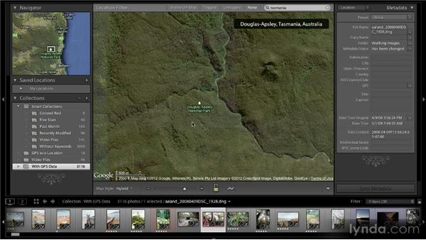 Working with non-geotagged photos: Lightroom 4 New Features Overview