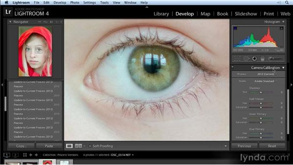 Process version 2012: Lightroom 4 New Features Overview