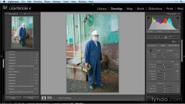The new Basic pane: Lightroom 4 New Features Overview