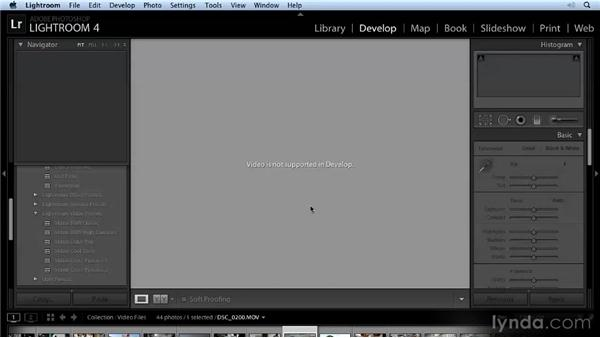 Video enhancements: Lightroom 4 New Features Overview