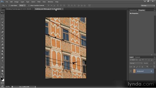 Arranging images: Photoshop CS6 Quick Start for Photographers