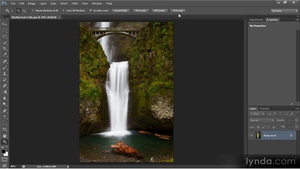 Navigating around an image: Photoshop CS6 Quick Start for Photographers