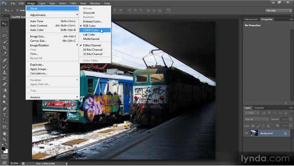 Color modes: Photoshop CS6 Quick Start for Photographers