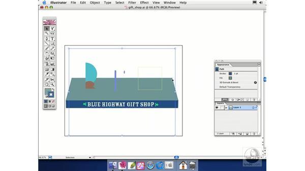 extrude: Illustrator CS Essential Training