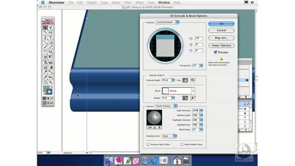 bevels: Illustrator CS Essential Training