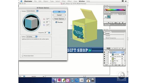 rotate: Illustrator CS Essential Training
