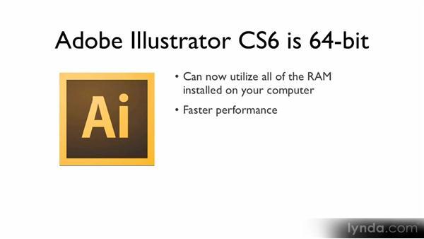 64-bit support: Illustrator CS6 New Features Overview