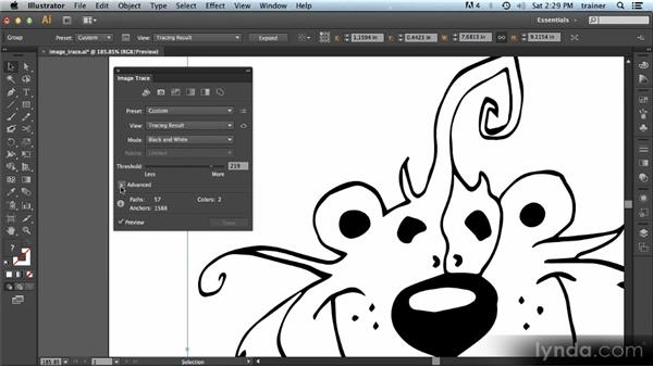 Image Trace: Illustrator CS6 New Features Overview