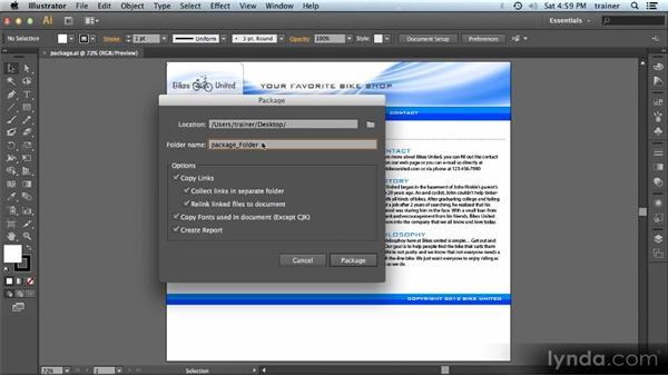 Package files: Illustrator CS6 New Features Overview