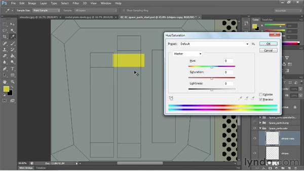 Creating texture details and major landmarks: Learn to Texture for Games