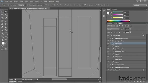 Creating edges and borders: Learn to Texture for Games