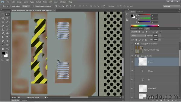 Working with values and colors for incandescence: Learn to Texture for Games