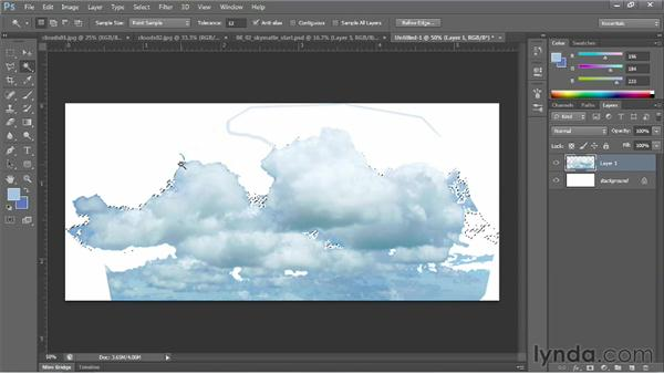 Painting clouds for a skybox: Learn to Texture for Games
