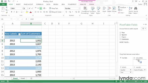 Welcome: Excel 2013: Pivot Tables in Depth