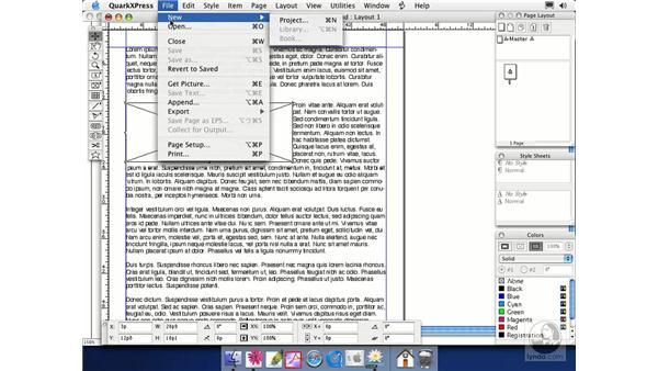 QuarkXPress: Illustrator CS Essential Training