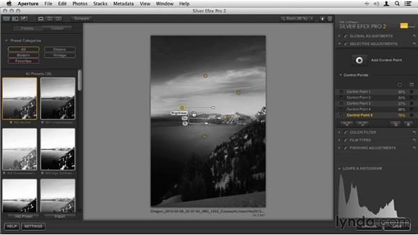 Image conversion: Crater Lake, Oregon, United States: Artist in Action: Joseph Linaschke's Large Scale Black-and-White Photographs