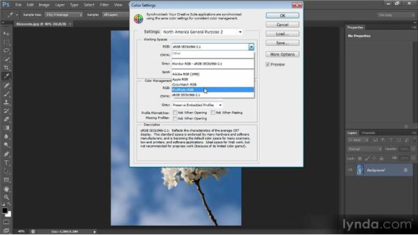 Color settings: Optimal Output with Photoshop CS6