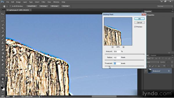 Sharpening with Unsharp Mask: Optimal Output with Photoshop CS6