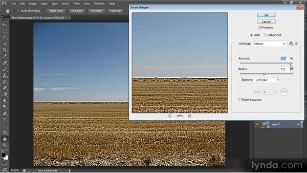 Sharpening with Smart Filters: Optimal Output with Photoshop CS6